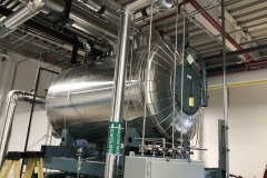 Deairator Tank & Pipe Insulation in Energy Plant at a Research Facility in Durham